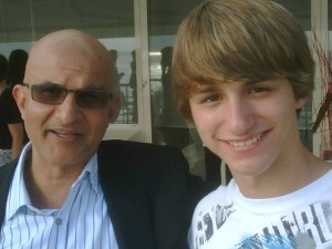 Deepak Nayar and Lucas Cruikshank
