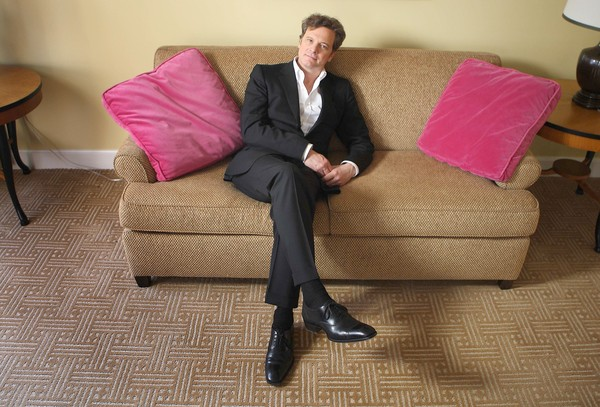 Colin Firth discusses his role in THE SINGLE MAN
